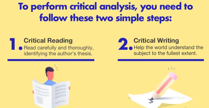 How to Write a Good Critical Essay