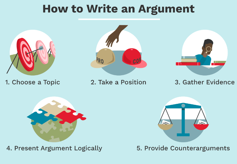Writing Tips for an Argumentative Essay